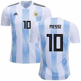 Jersey Playera Argentina Local 2018 Messi  10 Mundial 4d6b6ef3d0b7e