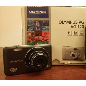 Oferta Camara Digital Hd Olympus Vg120 Caja Cargador Cables
