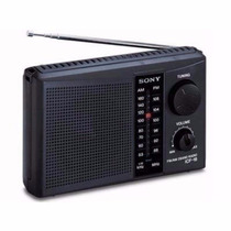 Radio Sony Icf-18 Am/fm Pilhas Portatil
