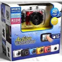Câmera Digital Action Camcorder Sports Hd A Prova D