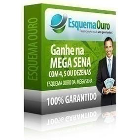 Esquema Ouro Mega Sena Original - Frete Gratis # 2015 #