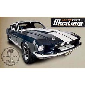 Ford Mustang Shelby-lacrados Fascículos 1 Até 56!