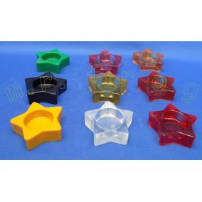 Porta Velas Para Recuerdos Modelo Estrella Para Tea Light