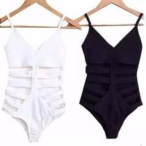 Body Feminino Com Recorte Lateral Panicat Blusa Verão 2016!!