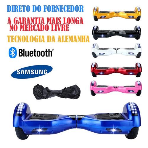 Hoverboard Electrico Barato Bluetooth Bateria Samsung Rosa