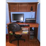Computador De Escritorio+impresora+mueble+silla.promoción!!