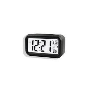 85358f8ad39 Relógio De Mesa Parede Digital Alarme Temperatura Luz Led