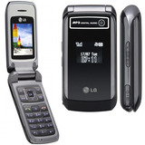 Celular Lg Folder Kp215 Single Chip C/ Bluetooth, Mp3 Player