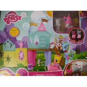 Castillo De Pony Con Luces (nuevo)