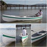 Canoa Canadense De Fibra De Vidro - Nova - Modelo A