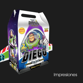 Impresiones Caja Dulcero Buzz Lightyear - Toy Story!!!