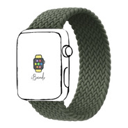Pulseira Ibands Loop Solo Trançada Para Apple Watch