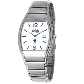 Reloj Clásico Malla De Acero Inoxidable - Mod.37091