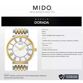 Reloj Mido Para Caballero M0096102201300 Bicolor Swiss Made
