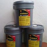 Paila Cuñete Aceite Shell 15w40 R4 Rimila Diesel