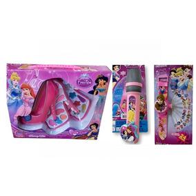 Kit Brinquedo Infantil Personagem As Princesas Disney