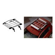 Parrilla Porta Equipaje Aluminio Con Bracket Mahindra Kuv100