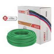 Caja 100 Mts Cable Rojo Cal 14 Awg Kobrex Vinikob 100%cobre