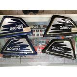 Tapas Md Condor 150cc Color Azul Y Negro.(par)