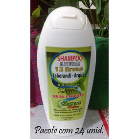 Shampoo Natural 12 Ervas Shamper Natu Com 24 Und