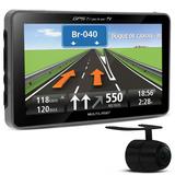 Gps Automotivo Multilaser Tela 4.3 Tv Digital Usb Câmera Ré