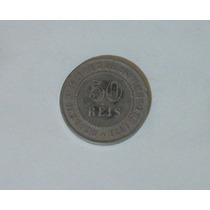 Moeda 50 Réis Império - 1 Moeda - 1886