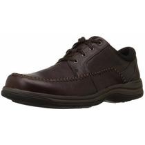 Zapatos Clark Modelo Portland 2, Color Marrón, Nuevos