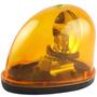 Luz De Emergência Giroflex Oval Amarela 12v Lee Tools