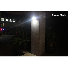 Luminária 16 Led Solar Parede, Garagem, Muro Escadas Chacara