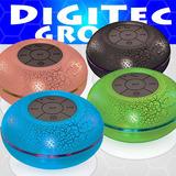 Parlante Ducha Portatil Bluetooth Noga Luces Led Ng P502
