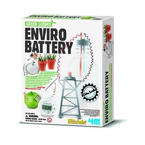 Batería 4m Kidz Laboratorios Verde Ciencia Enviro