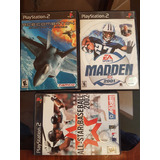 Videojuego Madden 2001 Acecombat 04 All Stars Base 2002 Ps2