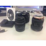 Oferta Cámara Réflex Sony A57 + 2 Objetivos Precio A Tratar