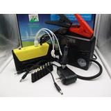 Auxiliar De Partida Emergência Powerbank Lanterna Compressor