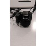 Canon Powershot Sx530 Hs Seminueva Con Funda/mochila