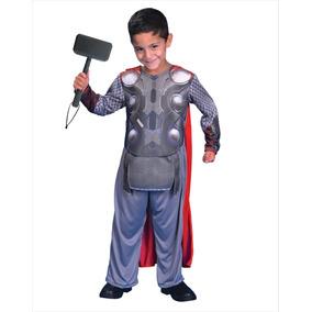 Disfraz Avengers Thor Licencia Original Con Luz New Toy