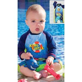 Vestido De Baño Bebe Con Proteccion Solar 4098