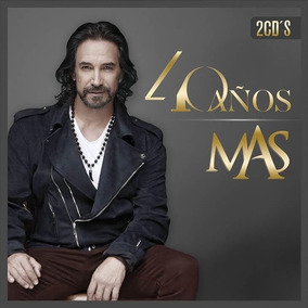 Cd Marco Antonio Solis 40 Años Mas 2 Cds Open Music