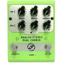 Pedal Nig Asdc Analog Stereo Dual Chorus Para Guitarra Baixo