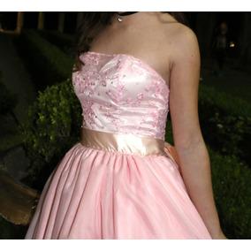 Vestido De 15 Años Rosa Precio Charable Venta Urgente!!