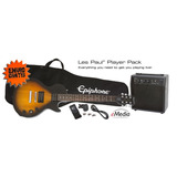 Guitarra Epiphone Les Paul Players Pack