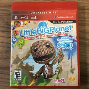 Jogo Little Big Planet Game Of The Year M.fís Ps3 Seminovo