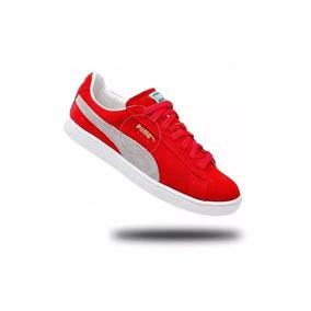 Tnis Puma Suede Classic Vermelho - Puma Casuais para Masculino em ... 3d6a79c555305
