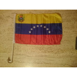 Bandera De Venezuela Para Carro 45x30 Nueva 8 Estrellas