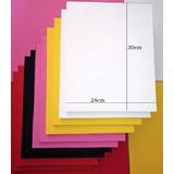 20 Placas De Borracha P/chinelo Tam.30x24cm