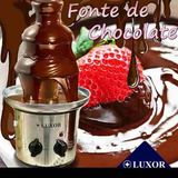 Fonte De Chocolate Luxor Original Grande 3 Torres Cascata