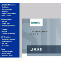 Siemens Logo Soft Comfort V8 Completo Envio Gratis