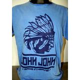 Camiseta Importado Indio Azul ( Frete Grátis) Pague 2 Leve 3