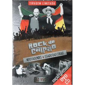 Dvd + Cd Rock De Galpão Neto Fagundes E O Estado Das Lacrado