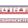 Faixa Decorativa - Ursinho Marinheiro 3 Metros
